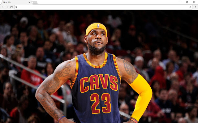 LeBron James Backgrounds & New Tab