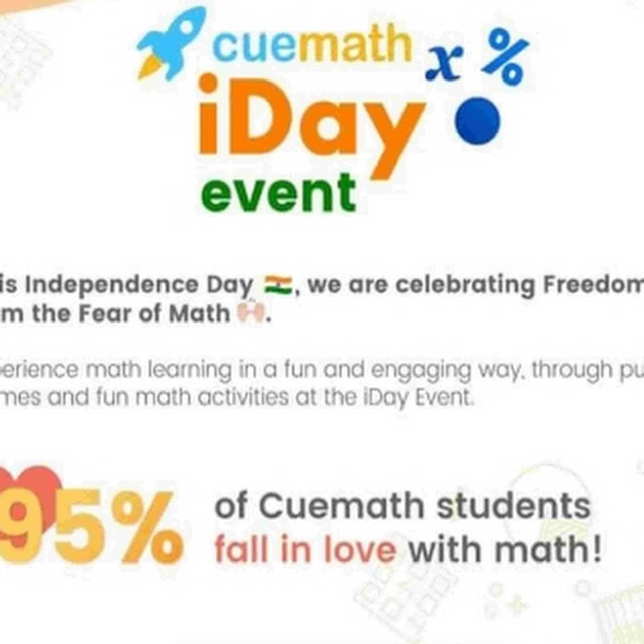 CUEMATH Math Learning Centre - Math Learning Beyond School