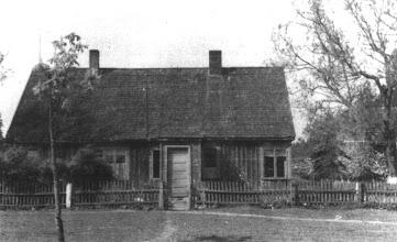 Photo: I. Stropaus sodyba, 1954-1964 m. – mokyklos bendrabutis.