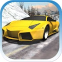 Car Racing Winter icon