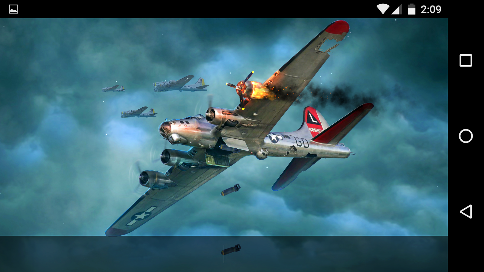 B-17 Flying Fortress WWII LWP - Android Apps on Google Play