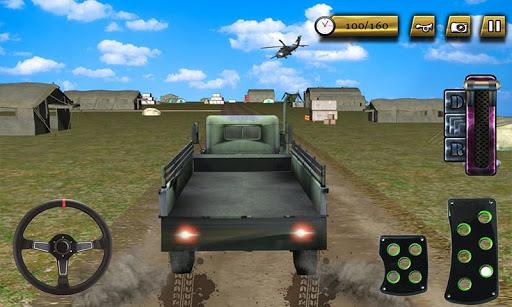 陆军基地的卡车生产车间