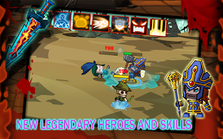 Screenshot of TinyLegends - Crazy Knight