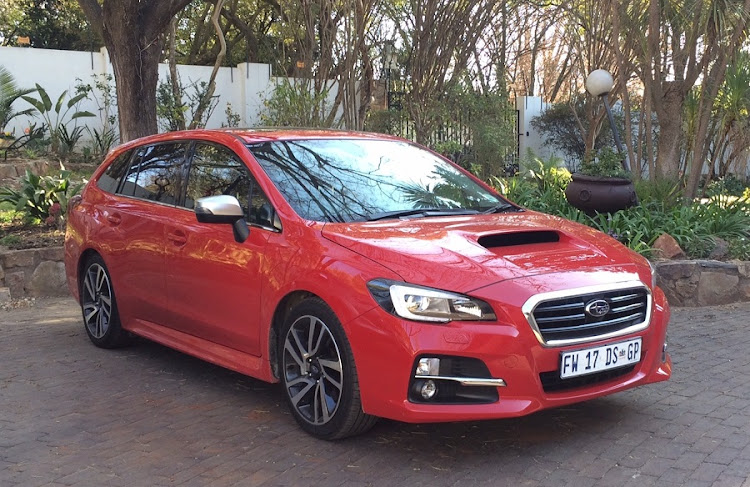 The Subaru Levorg is a bit of a stealth fighter when it comes to looks and performance. Picture: MARK SMYTH