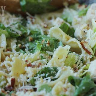 Chicken & Bowtie Caesar Salad