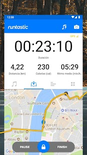 Runtastic: tu app de running y fitness Screenshot