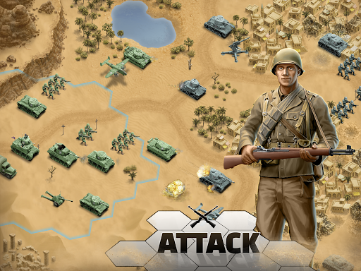 1943 Deadly Desert - a WW2 Strategy War Game 1.3.0 8