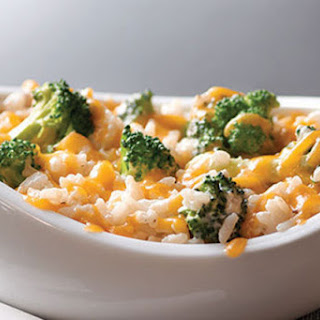 Make-Ahead Broccoli, Cheese & Rice
