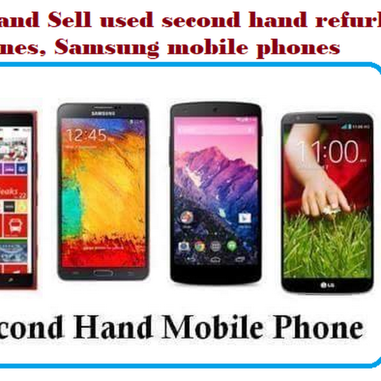 Cashzone - second hand mobile/ phone | second hand mobiles