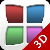 NEXT Launcher Theme FROOP 3D