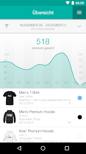 Spreadshirt Partner – Miniaturansicht des Screenshots