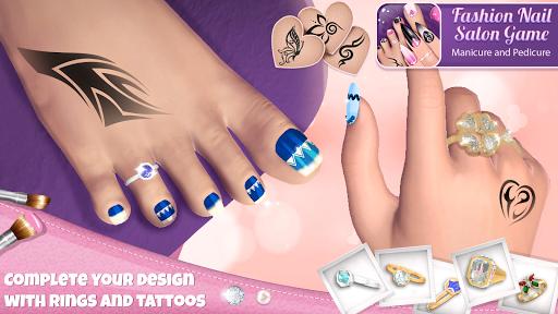 Fashion Nail Salon Game: Manicure and Pedicure App 1.1.1 screenshots 3