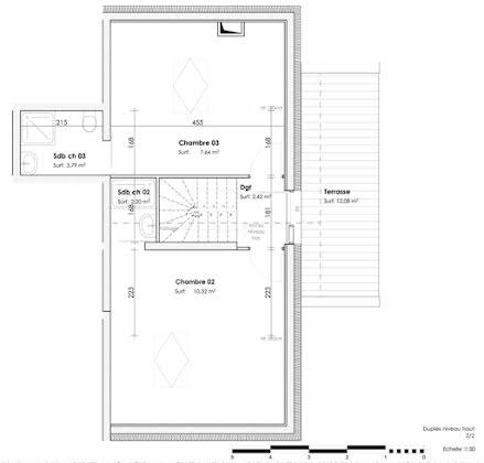 Vente duplex 4 pièces 84,06 m2