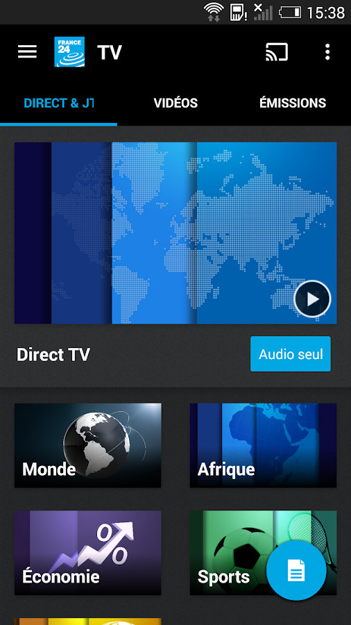 france 24 � applications android sur google play