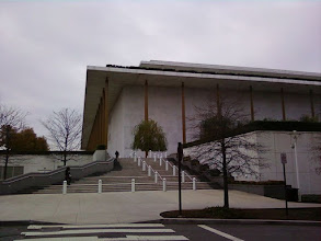 Photo: Here's the KC from the Cup'a Cup'a. We have arrived at the Temple of Art in D.C.