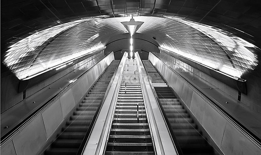 Spaceship by Eugénio Buchinho - Buildings & Architecture Other Interior ( stairs., black $ white )
