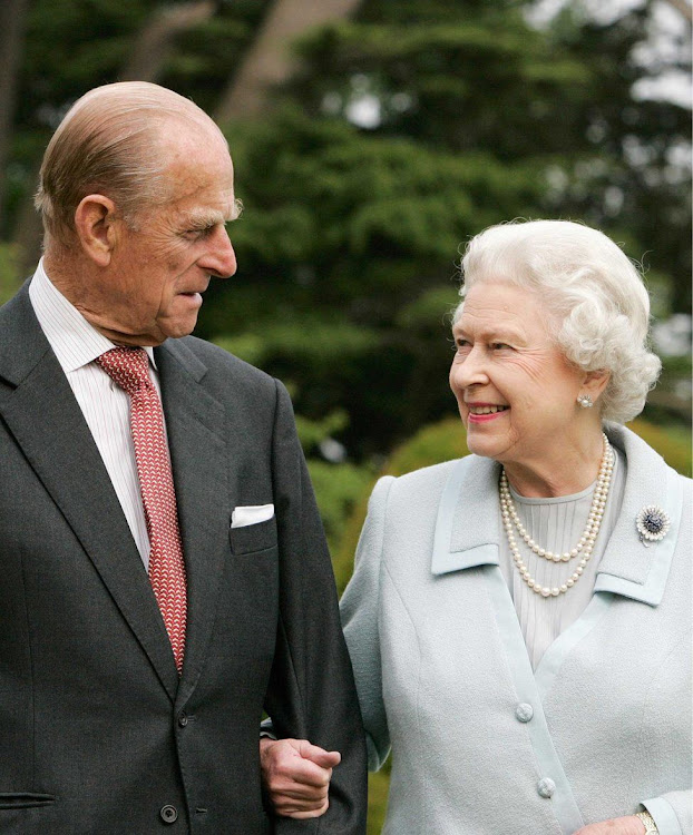 Prince Philip with Queen Elizabeth./BBC