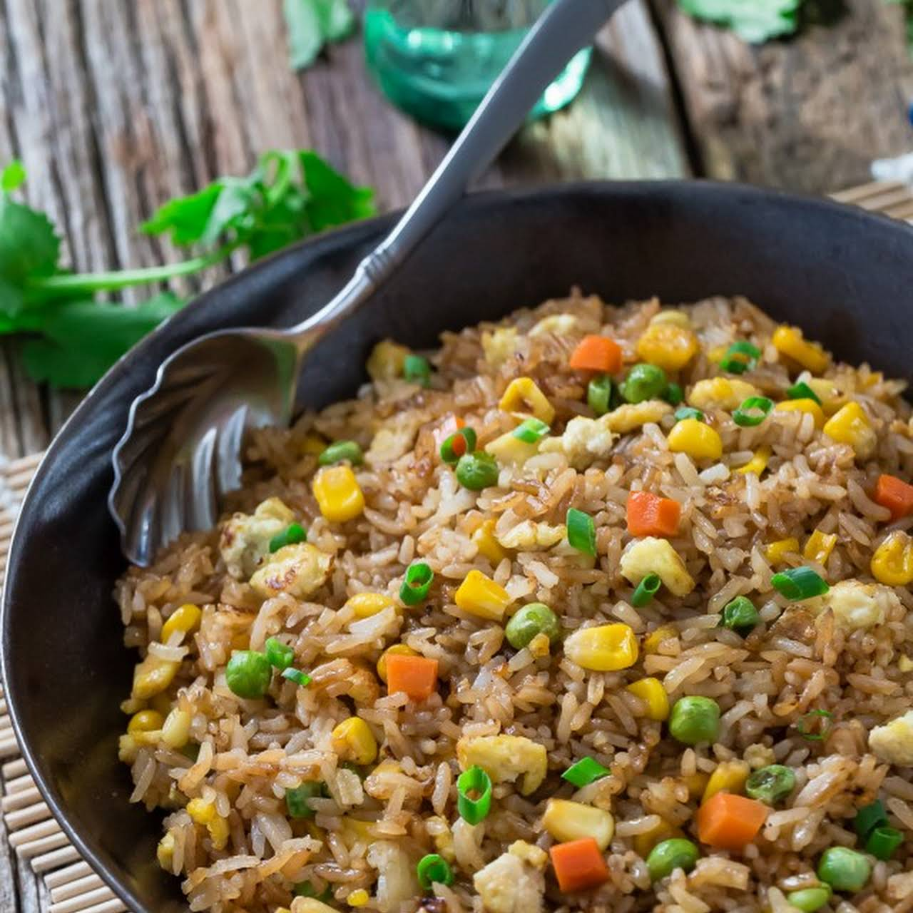 solution Chinese Fried Rice + Video