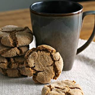 Gluten Free Molasses Cookies.