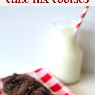 Triple Chocolate Fudge Cake Mix Cookies Recipe