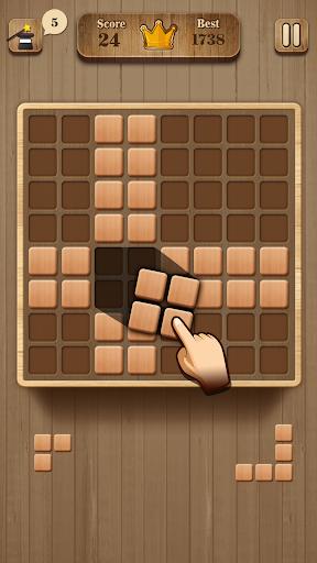 Wood Block Puzzle - Wooden Game 1.2 screenshots 1
