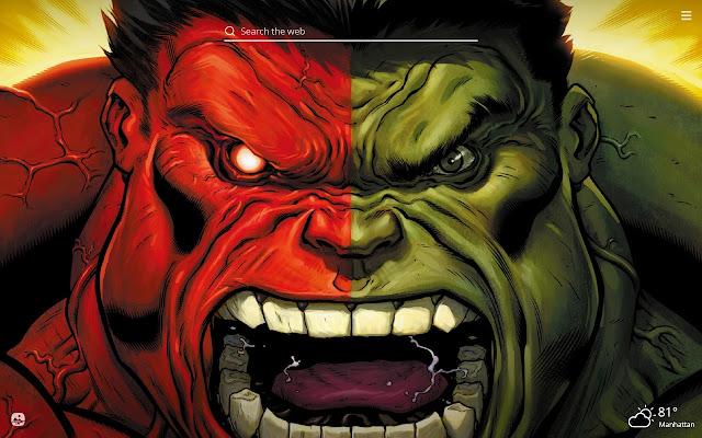 Hulk HD Wallpapers New Tab Theme