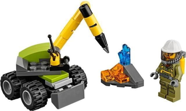 Lego City Máy khoan núi lửa