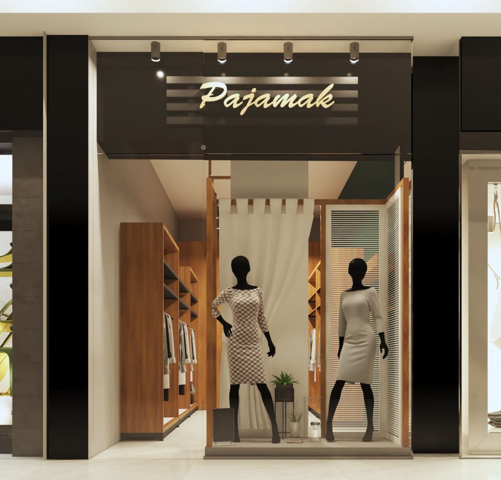 طراحی و ساخت ویترین مغازه مشهد