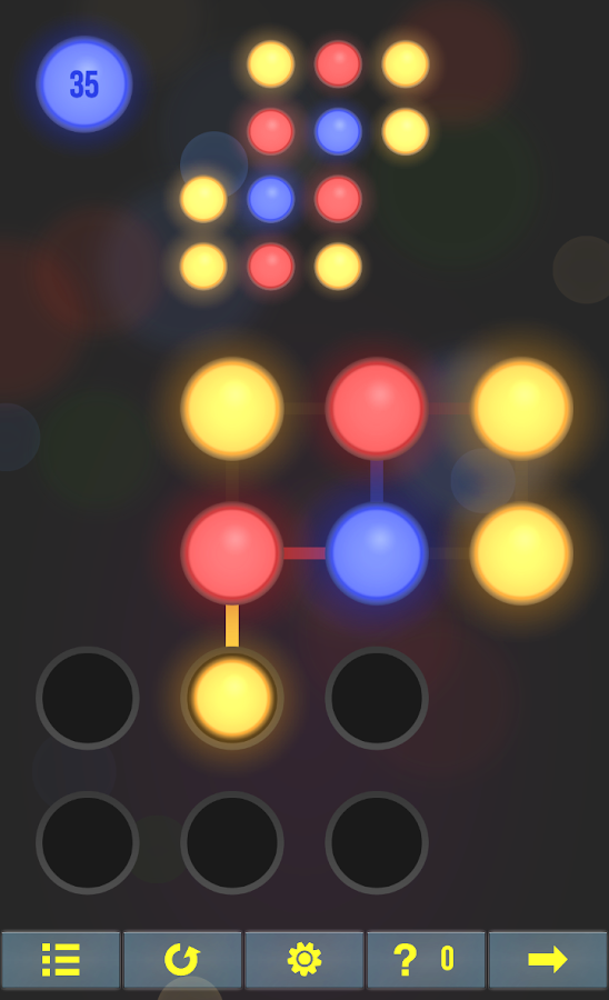 Neon Hack: Pattern Lock Game- screenshot