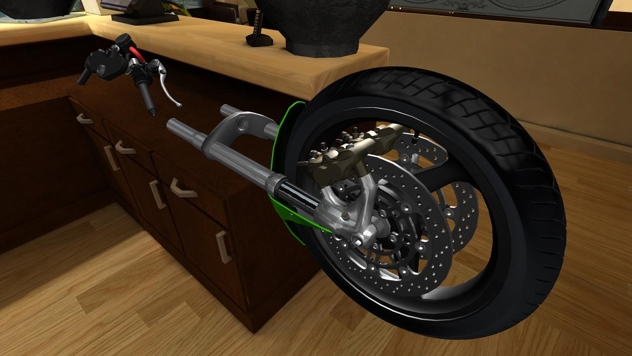 Fix My Motorcycle: 3D Mechanic- screenshot
