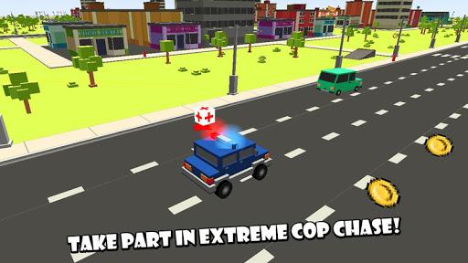 Cube Smash: Cop Chase Race 3D