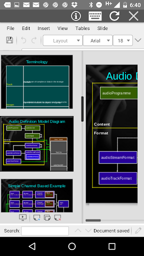 androffice editor doc xls ppt screenshot 3