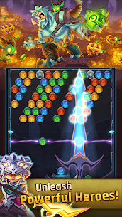 LightSlinger Heroes: Puzzle RPG Apk Download For Android and Iphone 3
