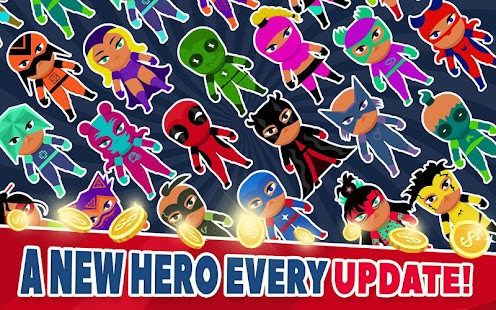 Super Hero Factory : Idle Clicker Tycoon Inc Screenshot