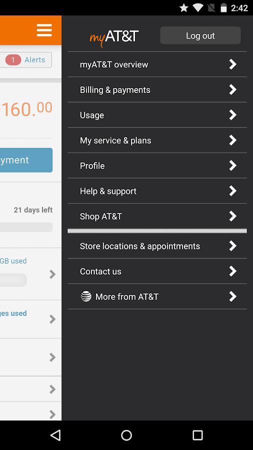 myAT&T- screenshot