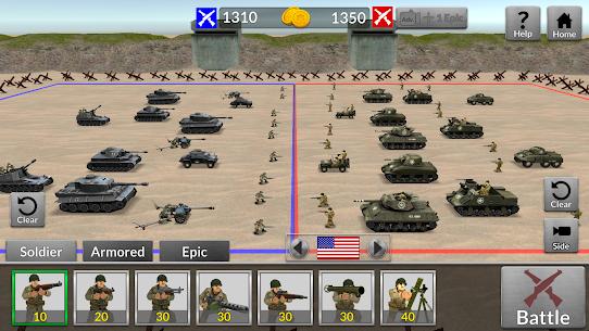 WW2 Battle Simulator MOD (Unlimited Money) 7