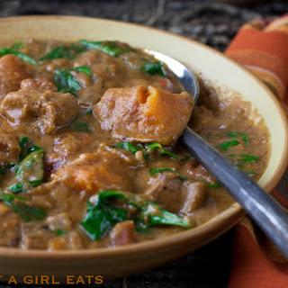West African Peanut Stew.
