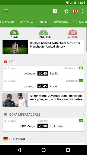 BeSoccer - Soccer Live Score  screenshots 1