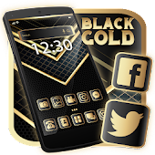 Black Gold Launcher Theme Live HD Wallpapers Android APK Download Free By Best Launcher Theme & Wallpapers Team 2019