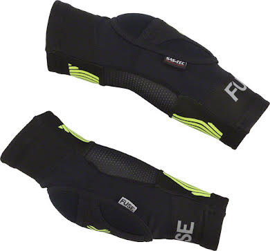 Fuse Protection Omega Elbow Pad - Black/Neon Yellow, 3X-Large, Pair alternate image 2