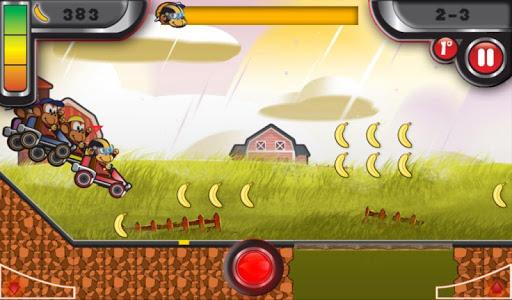 Monkey Kart game (apk) free download for Android/PC/Windows screenshot