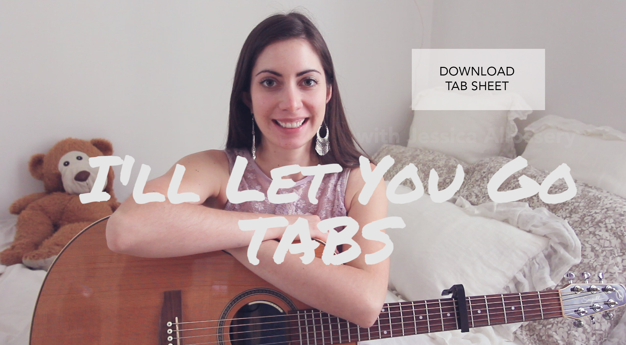 Ill Let You Go Lyrics By Jessica Allossery The Lovely Indie