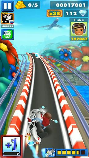 Rail Blazers Runner 4.0 screenshots 1