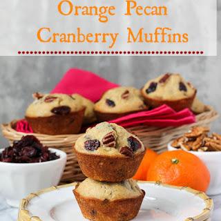 Orange Pecan Cranberry Muffins