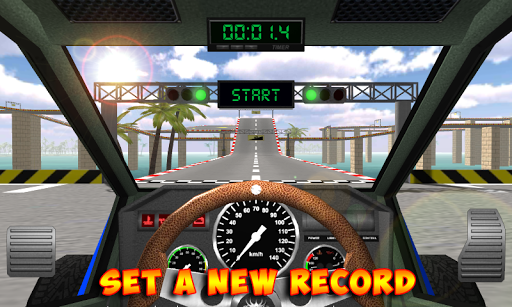 Racing stunts by car. Extreme racing. 3.6 screenshots 1