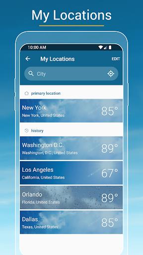Weather & Radar USA - Severe weather alerts  screenshots 4