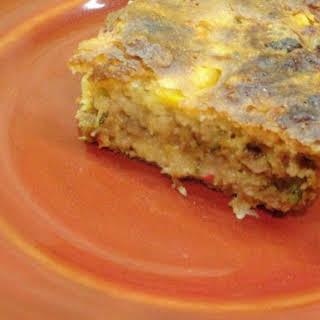 Joanna's Vegetarian Cornbread Casserole.