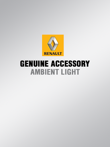 Renault Ambient Light
