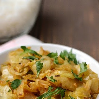 Spicy Cabbage dry Curry.