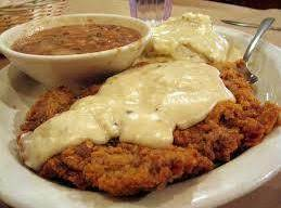 Chicken Fried Steak And Cream Gravy